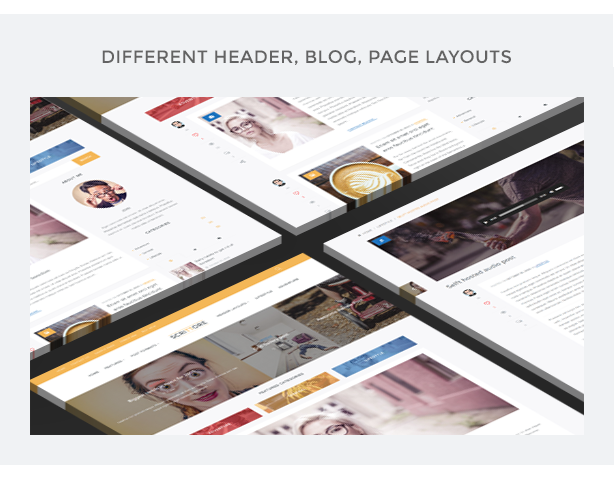 Scrittore - Elegant WordPress Blog Theme